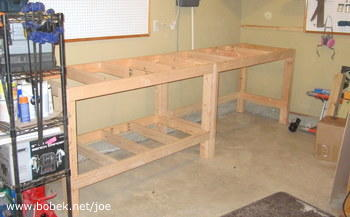 workbench frame assembly - Workbench Frame